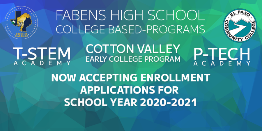 Fabens High School College Based Programs